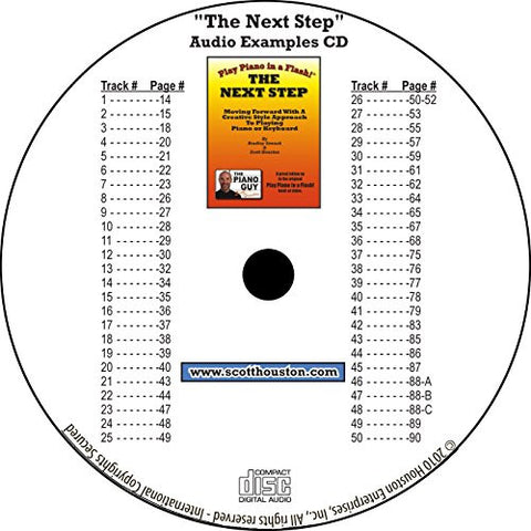 The Next Step Book Examples CD