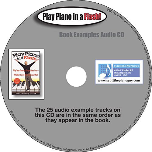 Play Piano in a Flash Book Examples CD