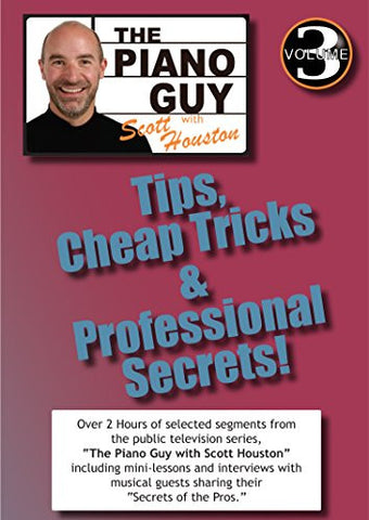 The Piano Guys Tips, Cheap Tricks & Professional Secrets - Volume 3 DVD