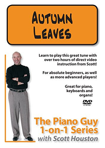 The Piano Guys 1-on-1 Series: Autumn Leaves DVD