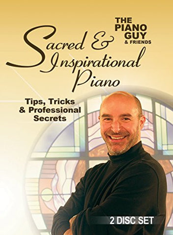 The Piano Guys Tips, Cheap Tricks & Professional Secrets - Sacred & Inspirational Piano DVD