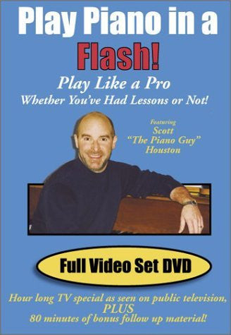 Play Piano In A Flash Full Video Set DVD