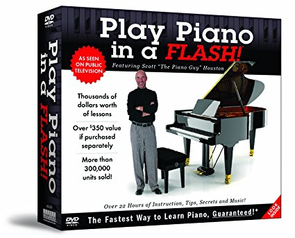 Play Piano in a Flash 12 DVD Set