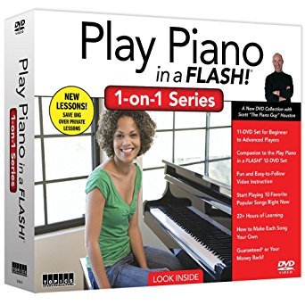 Play Piano in a Flash with Scott Houston 1-on-1 Series 11 DVD Set