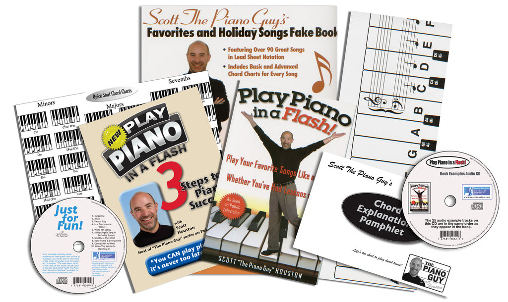 The Piano Guys Starter Set - Scott Houston