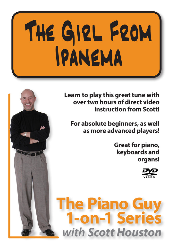 The Piano Guys 1-on-1 Series: Girl From Ipanema DVD