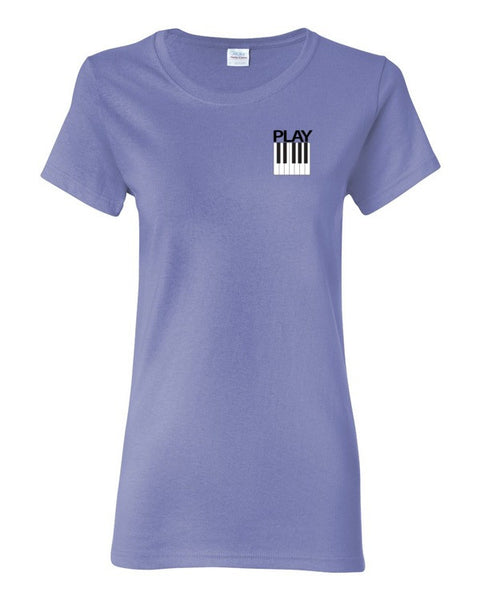 Play Piano Women's short sleeve t-shirt