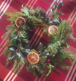 Wreath making class