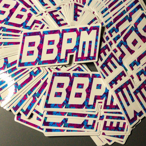 BBPM MILITIA DIE-CUT STICKER