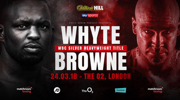 BAD BLOOD OF THE GIANTS: WHYTE VS. BROWNE