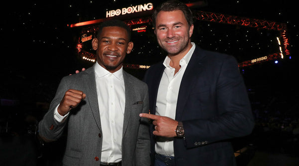 Eddie Hearn and Danny Jacobs