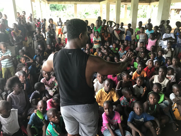 BOXING IS LOVE Liberia – The Start of a Global Movement