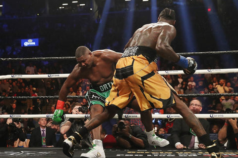 Wilder vs. Ortiz Dropped