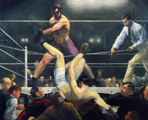 George Bellows: Jack Dempsey vs Luis Firpo