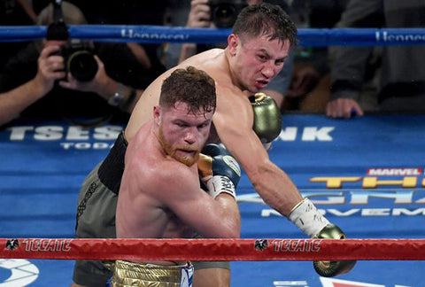 GGG overhand right Canelo