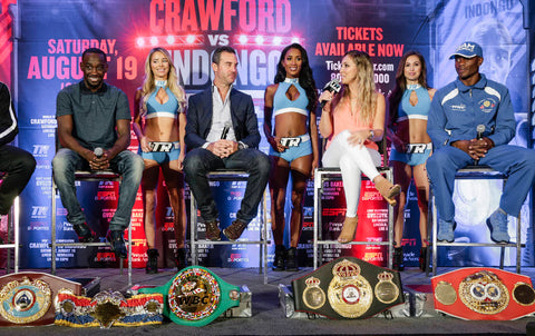 Crawford vs Indongo all the belts