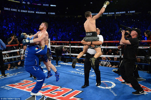 End of GGG Canelo