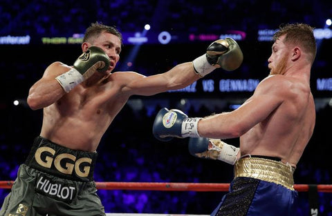 GGG miss Canelo