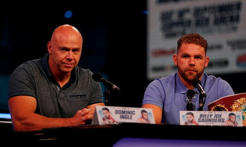 Billy Joe Saunders and Ingle