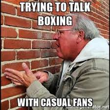 Casual boxing meme
