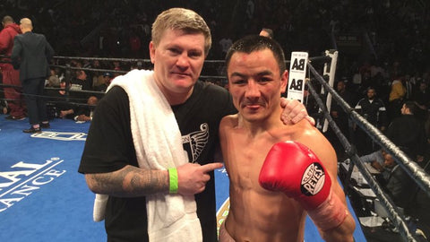 Ricky Hatton and Zhakiyanov
