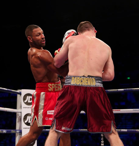 Kell Brook uppercut Rabchenko