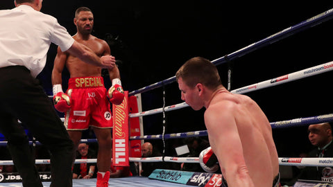 Kell Brook beats. Rabchenko