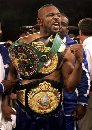 Roy Jones Jr. Light-Heavyweight Title