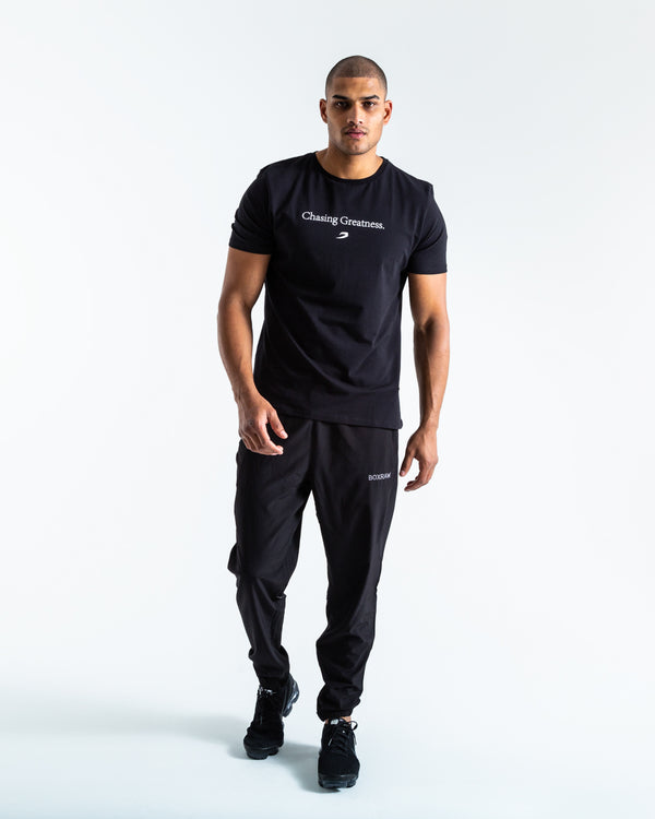 BOXRAW Chasing Greatness T-Shirt - Black