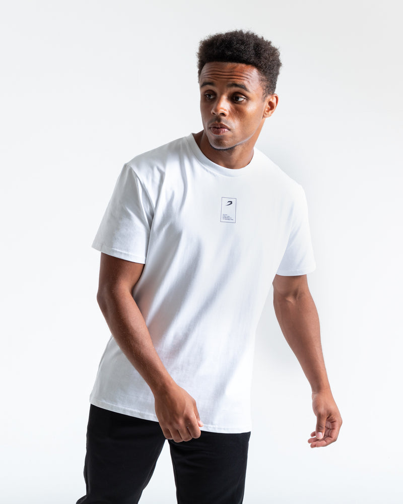 BOXRAW Established Strike T-Shirt - White