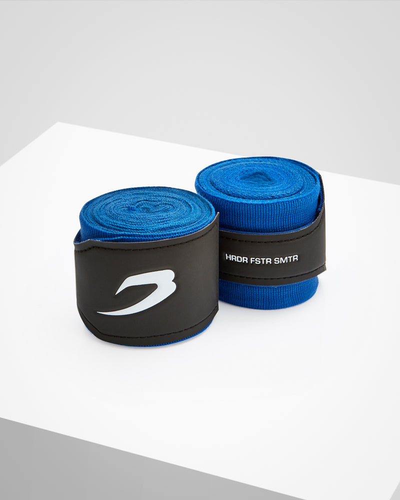4.5M Hand Wraps - Neon Blue - Boxraw