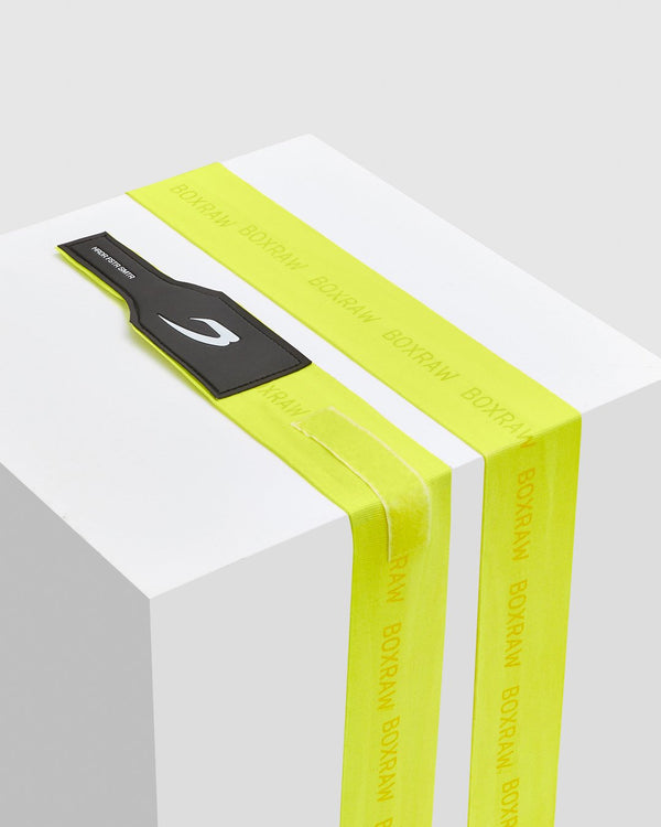 BOXRAW 3M Hand Wraps - Neon Yellow Boxing MMA Straps