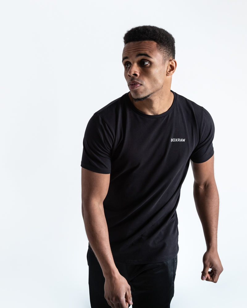 BOXRAW Logo T-Shirt - Black