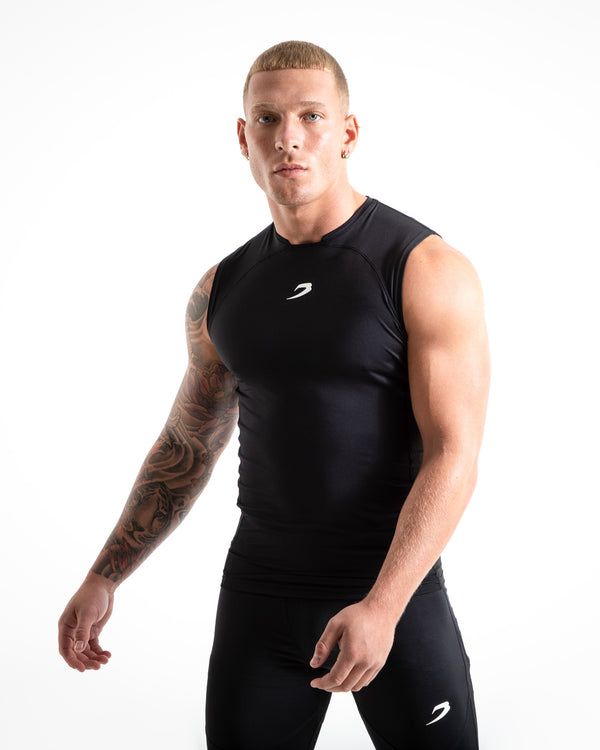 Saddler Compression Tank - Black