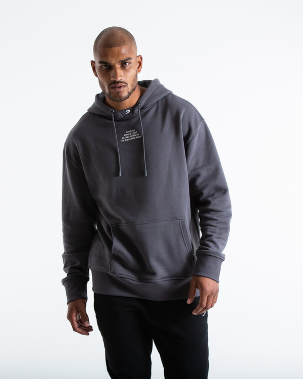 Established Unisex Hoodie - Charcoal