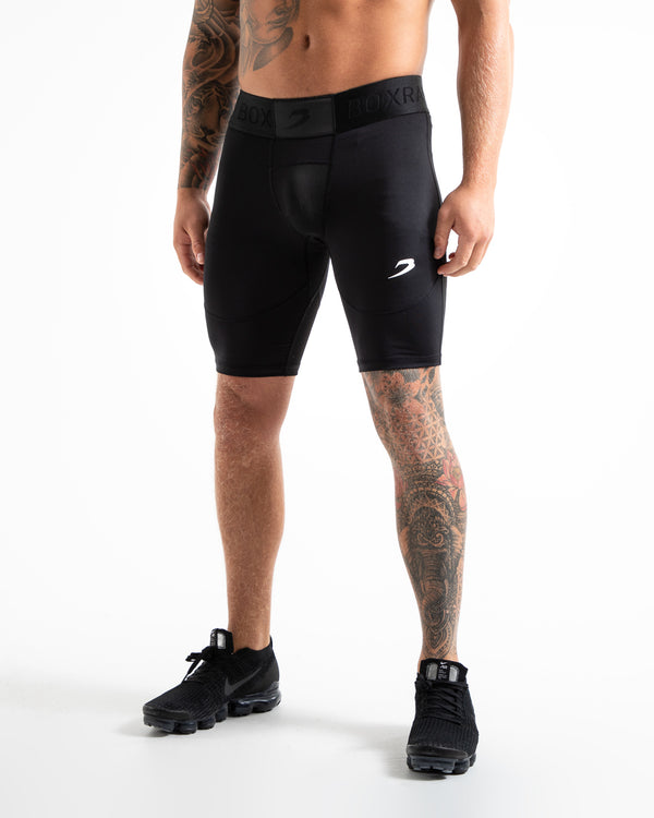 Saddler Compression Shorts - Black