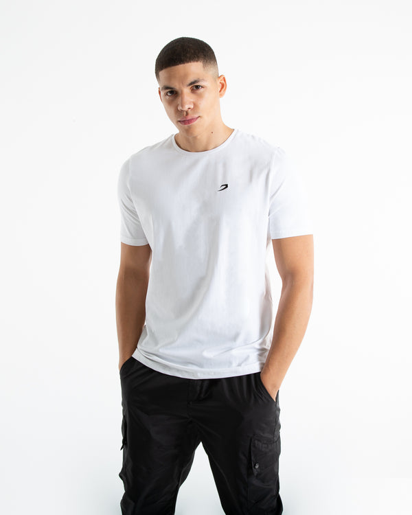 Strike T-Shirt - White - BOXRAW