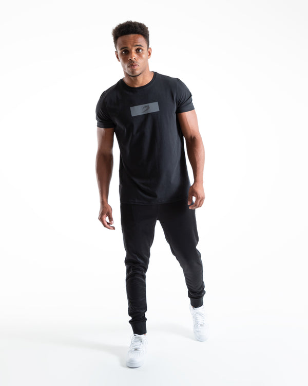 BOXRAW Reflective Strike T-Shirt - Black