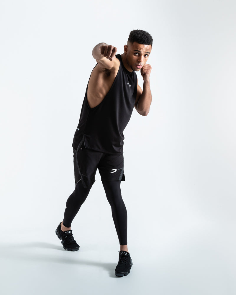 BOXRAW SMRT-TEC Muscle Tank - Black