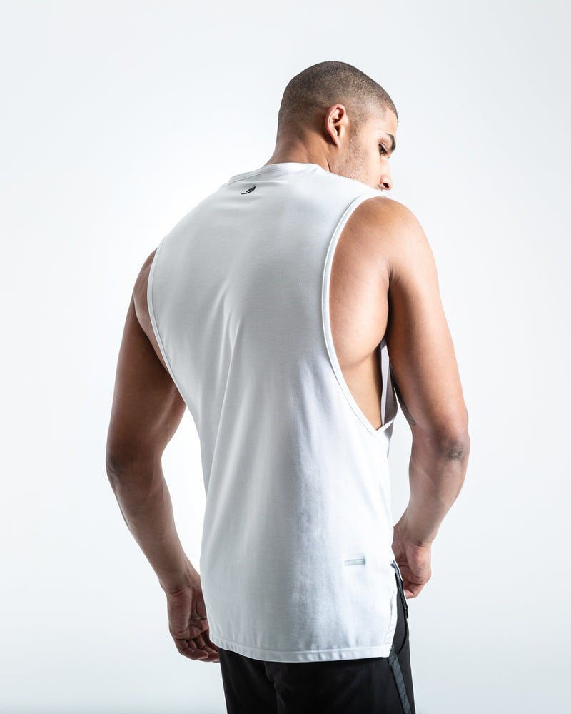 BOXRAW SMRT-TEC Muscle Tank - White