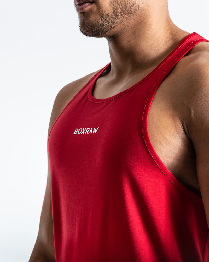 SMRT-TEC Stringer Tank - Red