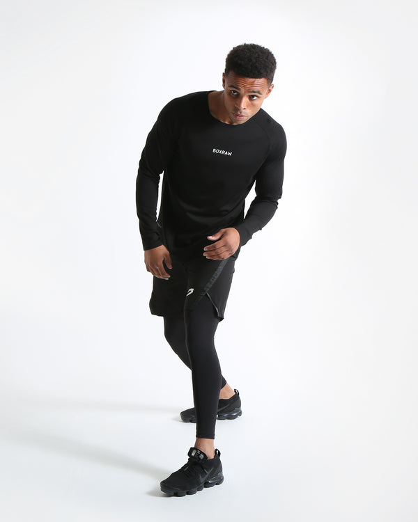 SMRT-TEC Long Sleeve T-Shirt - Black