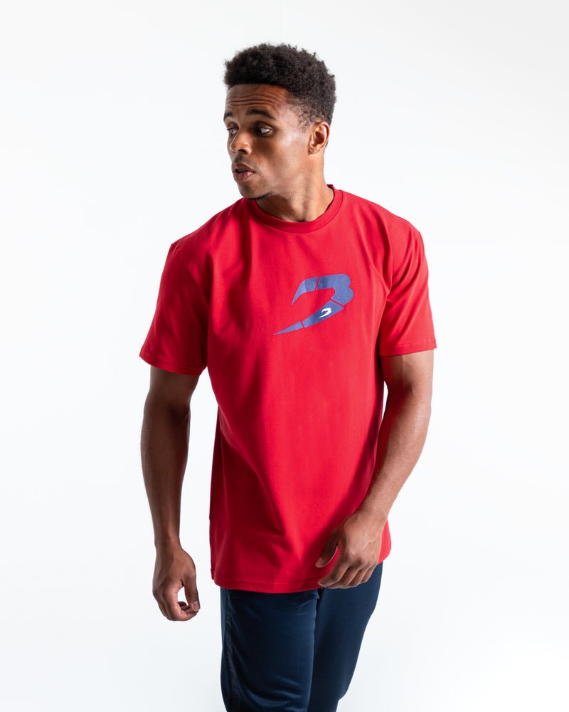 BOXRAW Glitch Strike T-Shirt - Red