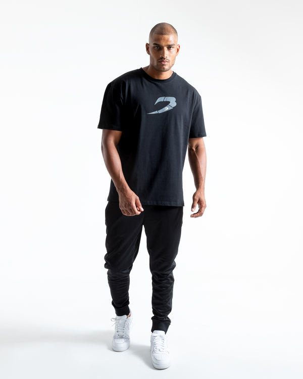 BOXRAW Glitch Strike T-Shirt - Black