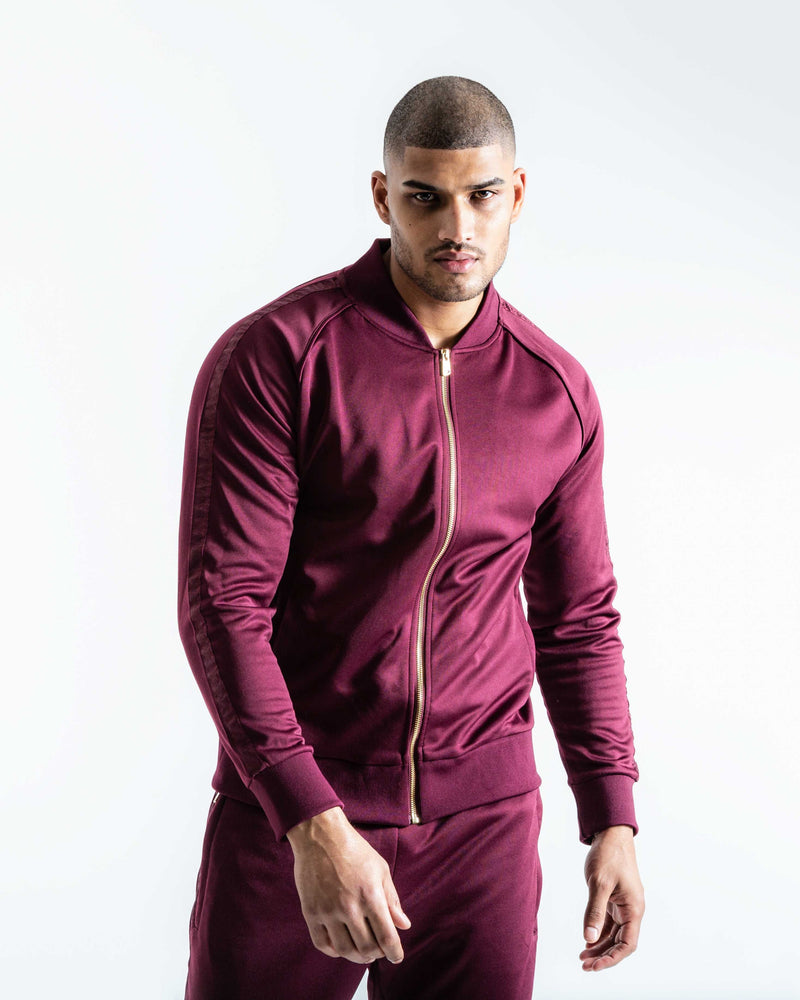 Whitaker Jacket - Wine | BOXRAW