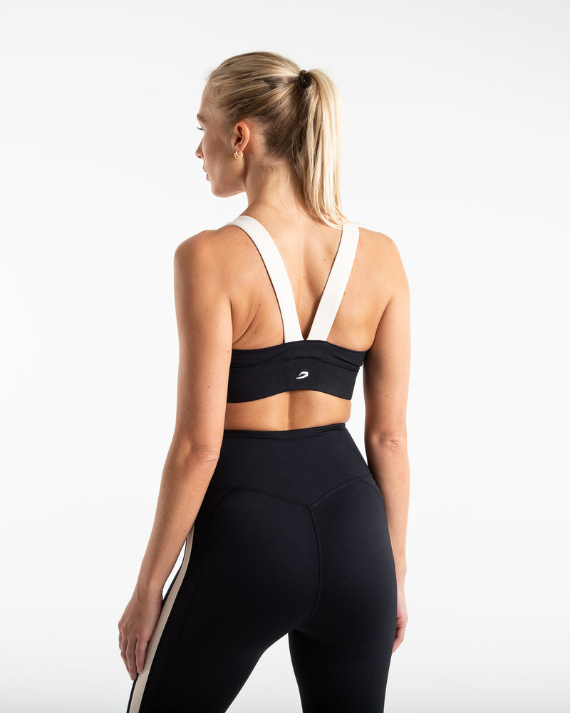 Alicia Sports Bra - Black