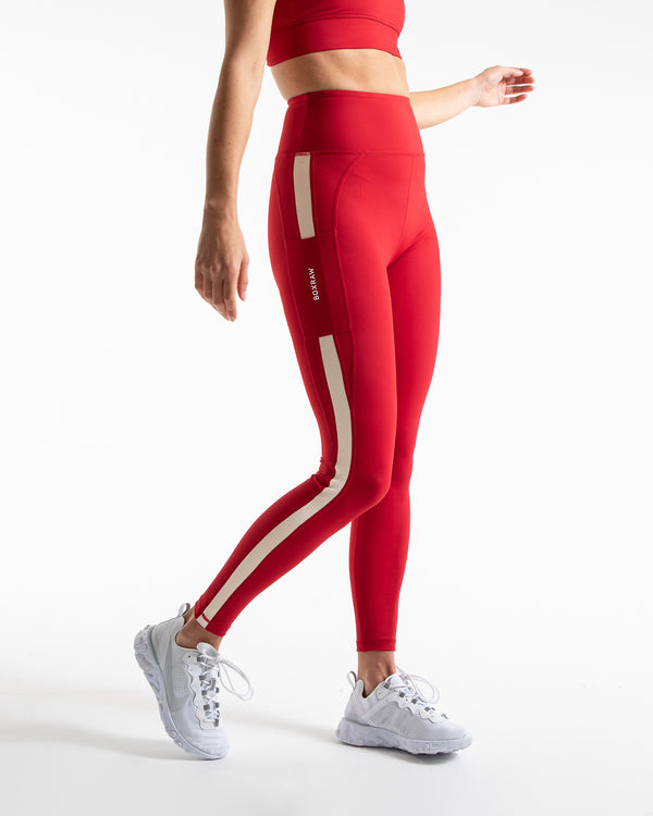 Alicia Leggings - Red