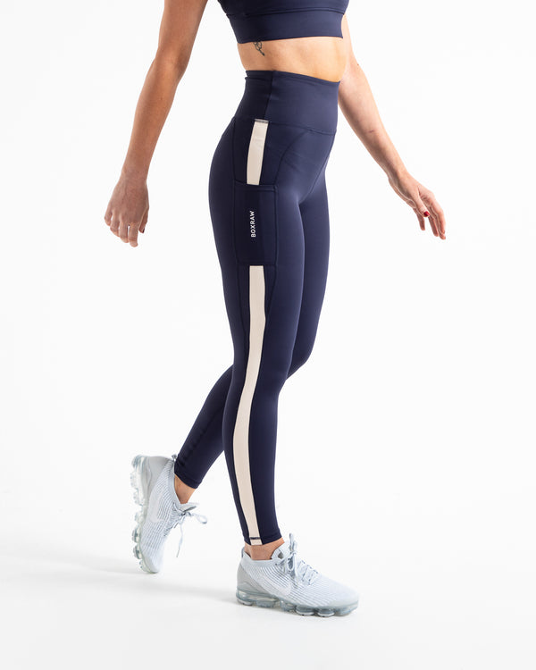 Alicia Leggings - Navy