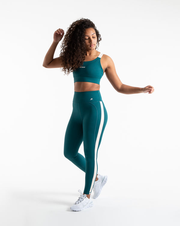 Alicia Sports Bra - Teal