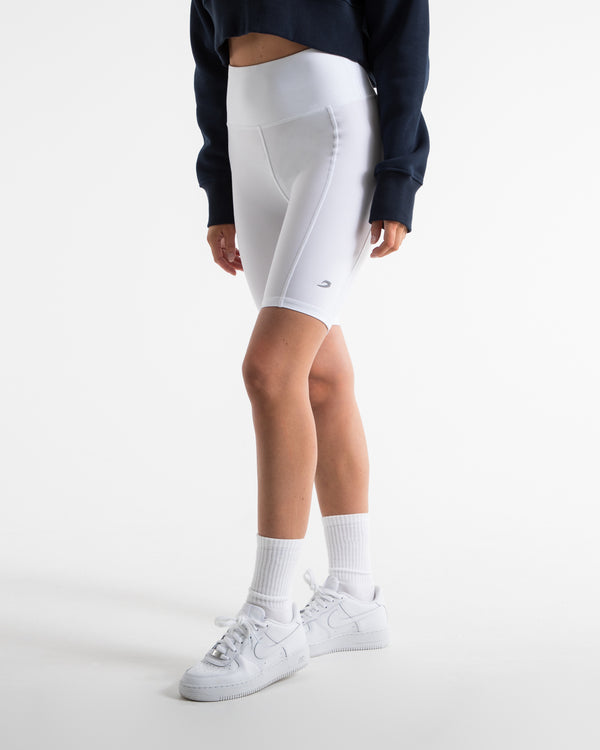 Velez Cycling Shorts - White
